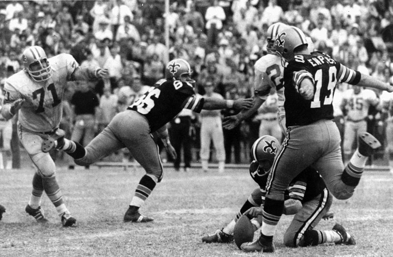 Saints Hall of Fame teammates remember Tom Dempsey