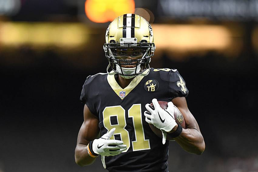 Saints WR Cameron Meredith on injured reserve, out for year with knee injury
