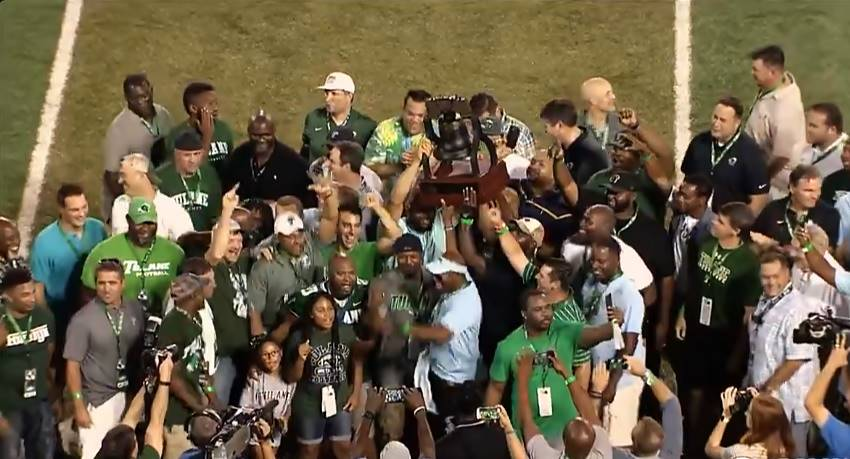 Tulane honors unbeaten 1998 team on 20th anniversary