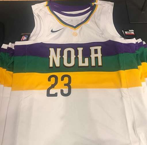 Pelicans Reveal Nike City Edition Alternate Jerseys With