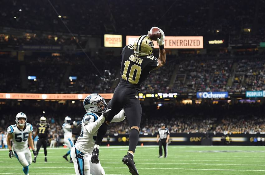 Saints WR Tre'Quan Smith vs. Panthers