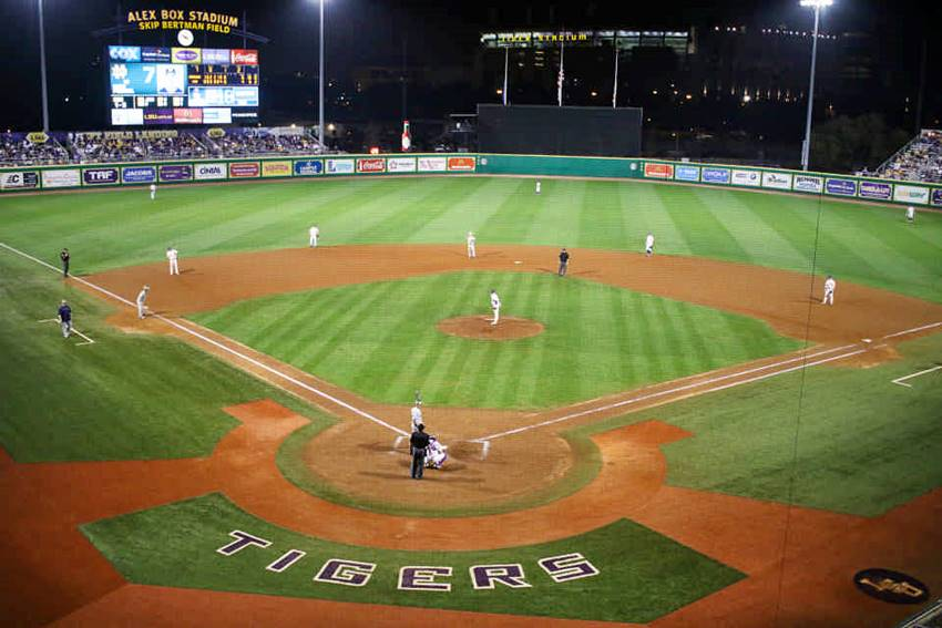 LSU hosts Stony Brook, Arizona State at Southern Miss at NCAA Baton Rouge Regional