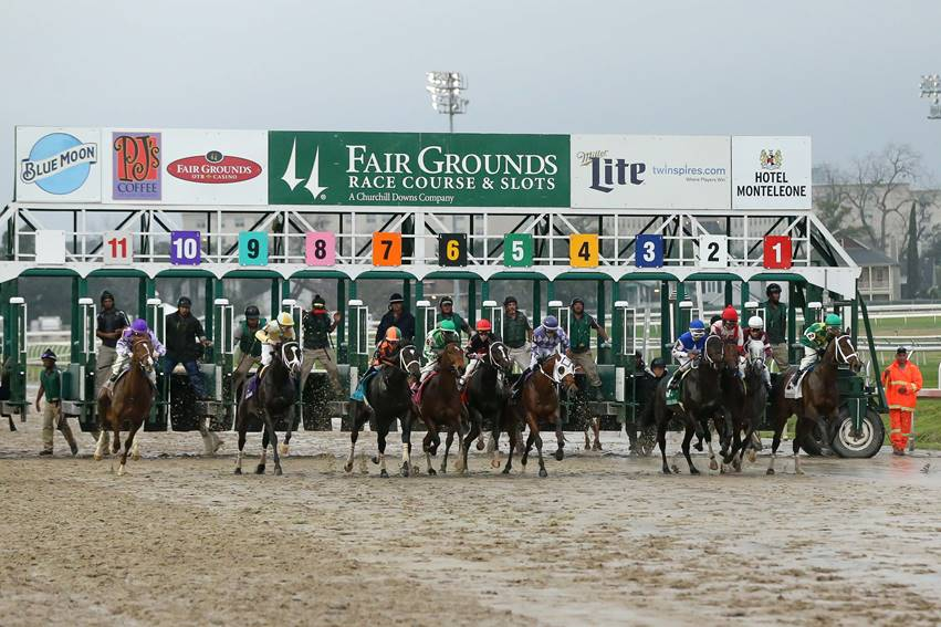 Fair Ground race start