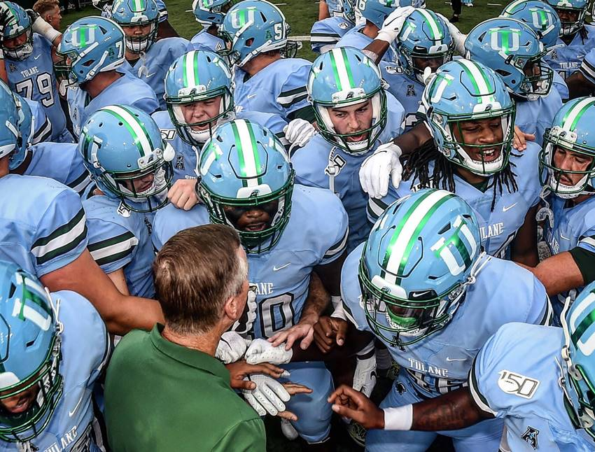 Tulane Announces 2020 Football Schedule Crescent City Sports