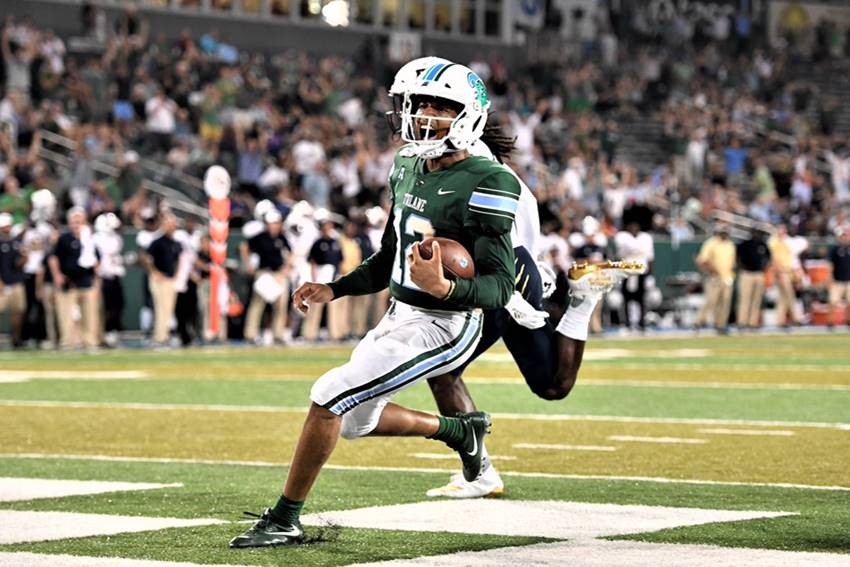 Tulane hosts Missouri State at Yulman Stadium on Saturday evening