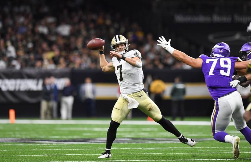 Saints QB Taysom Hill vs. Vikings