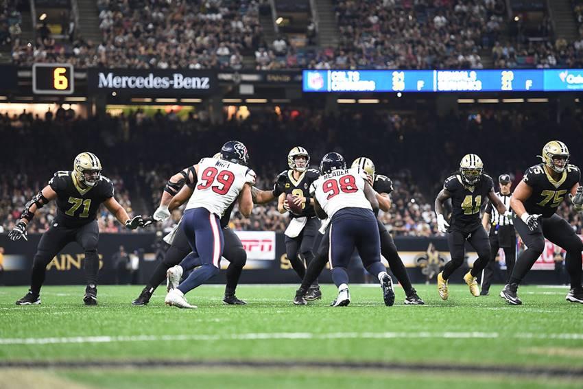 Saints-Texans 2019