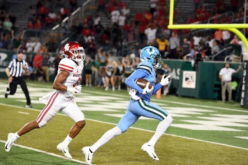 Tulane's Jalen McCleskey game-winner Houston