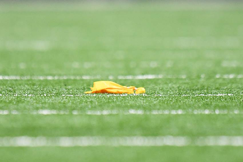 NFL officials flag