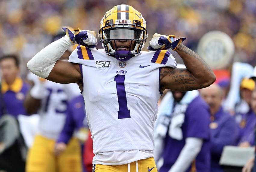 LSU wide receiver Ja'Marr Chase 2021 NFL draft watch list