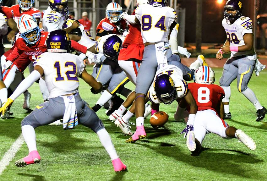 Corey Smooth safety vs. St. Aug