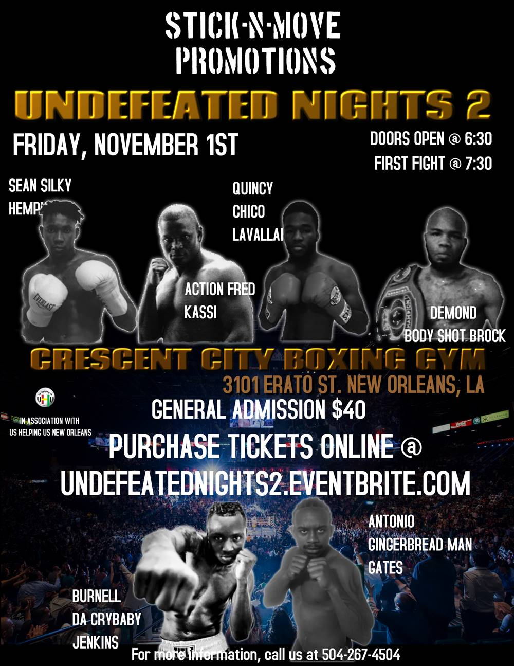 Undefeated Nights 2