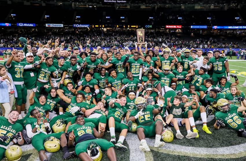 Acadiana: 2019 Class 5A football champions