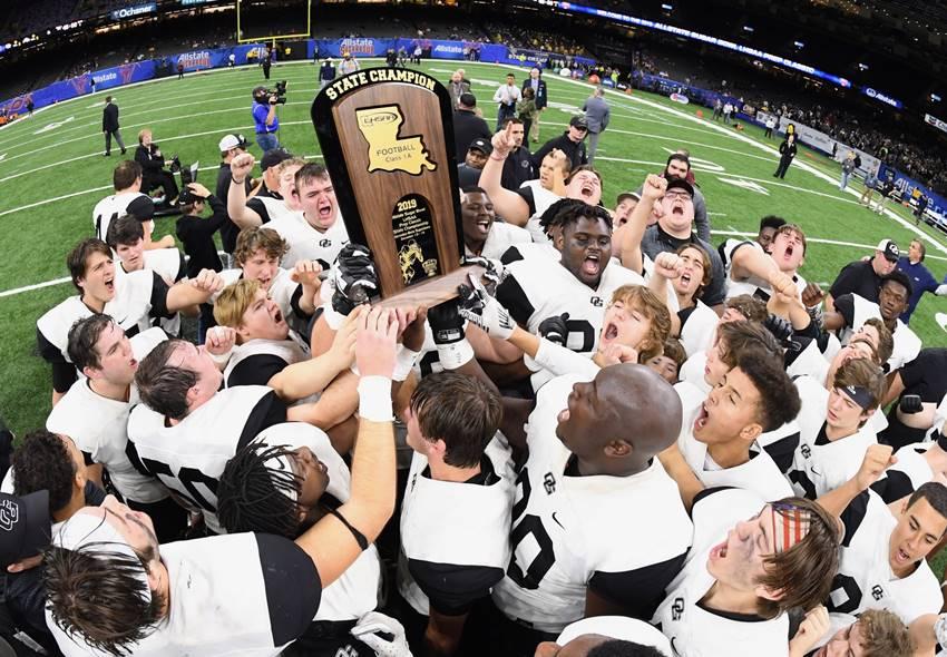 Oak Grove 2019 1A champions
