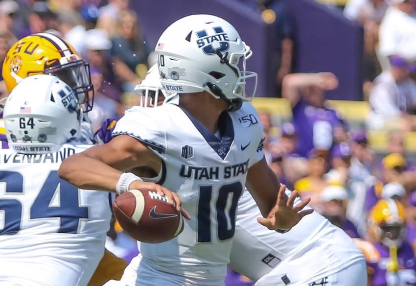 Utah State QB Jordan Love vs LSU