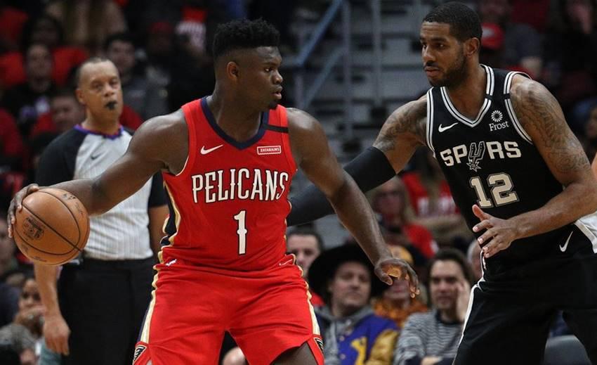 Zion debut Spurs
