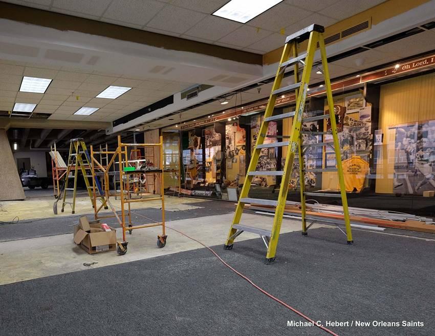 SHOF museum renovations