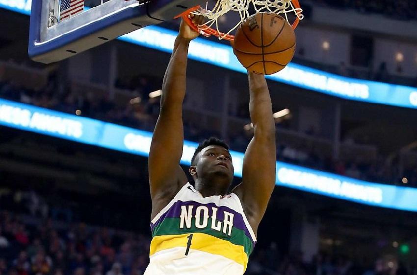 Zion dunk