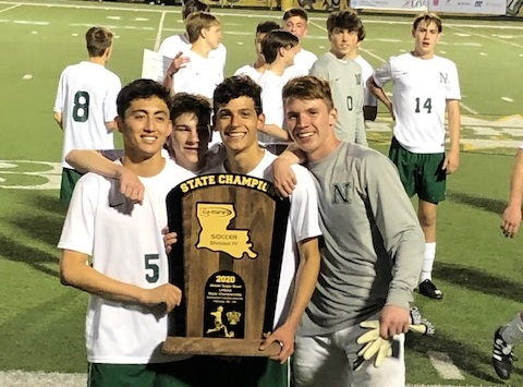 Newman wins Division IV boys soccer