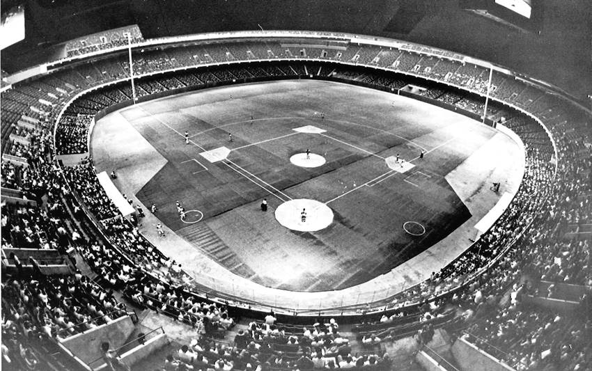 Superdome Baseball Game Photo