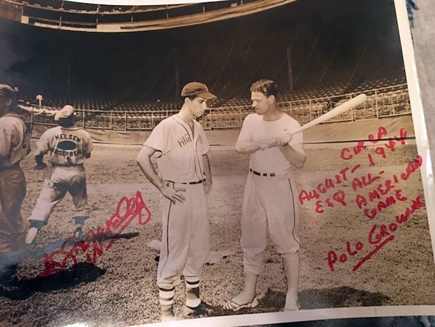 Frank Azzarello and Mel Ott
