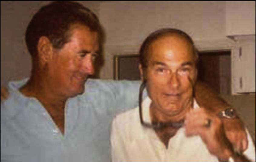 George Digby and Ted Williams