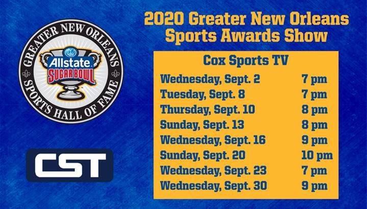 CST Sugar Bowl Awards schedule