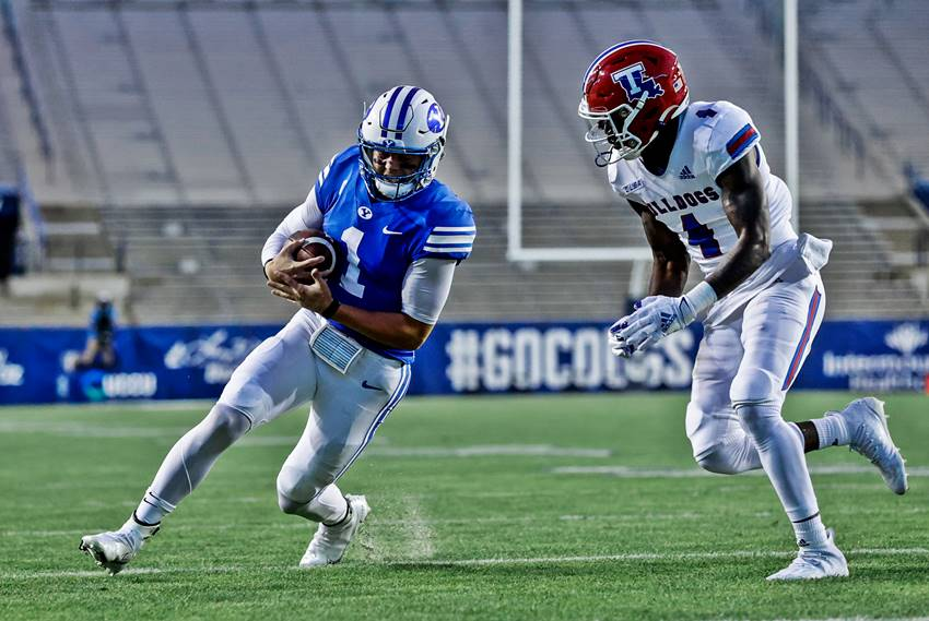 Wilson Paces No 22 Byu In Victory Over Louisiana Tech Crescent City Sports