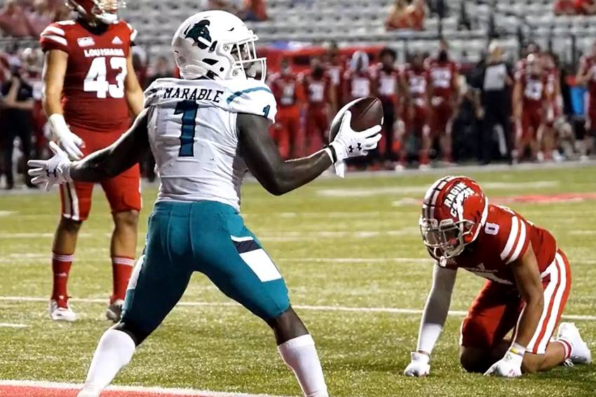 Coastal Carolina vs ULL football 2020