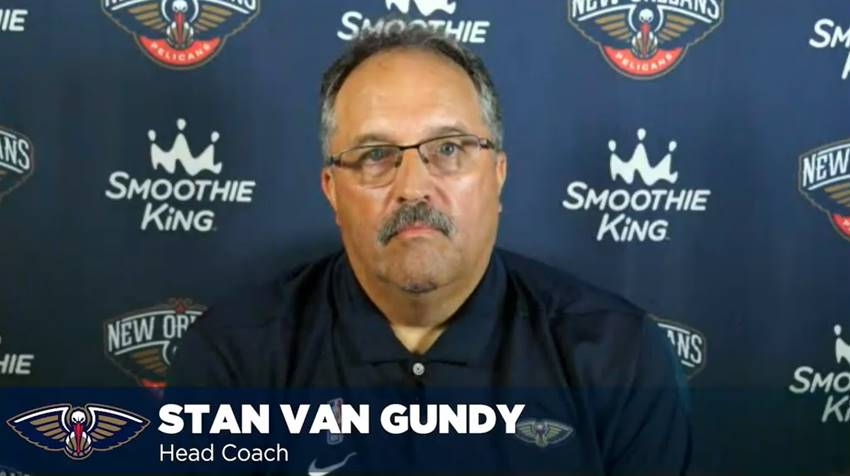Video: Stan Van Gundy introductory press conference as Pelicans head coach