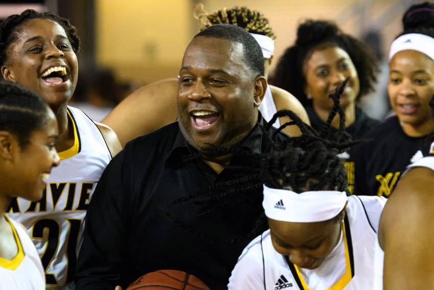 Bo Browder and Xavier women's basketball