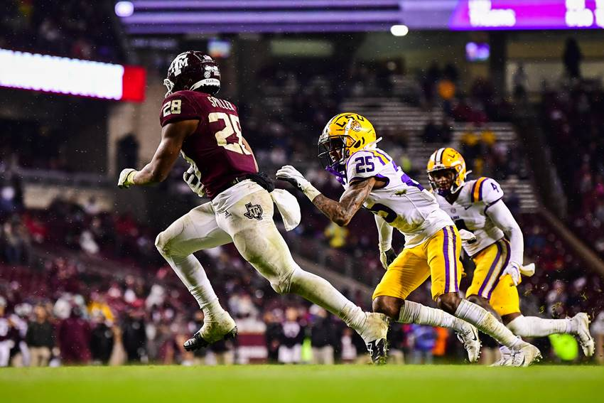 LSU at Texas A&M 2020