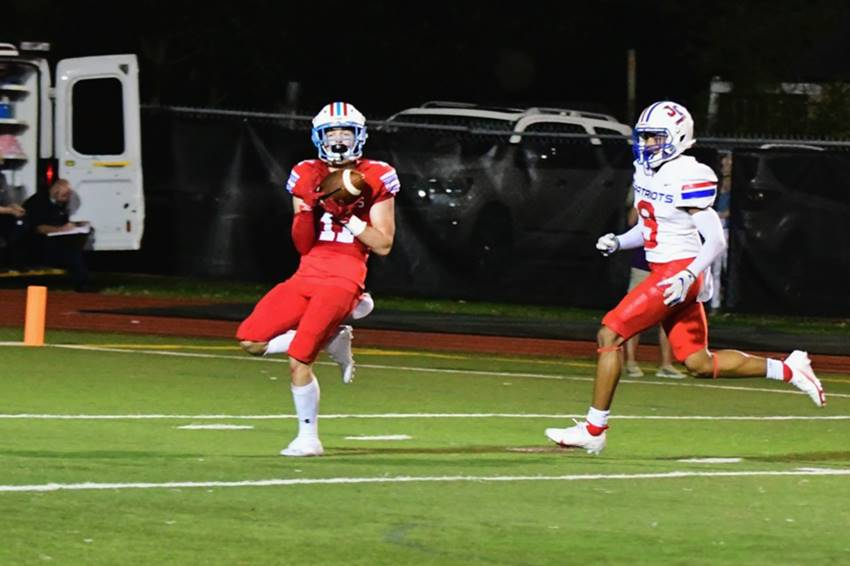 REPLAY: Rummel controls first half, holds off Curtis for 20-14 win