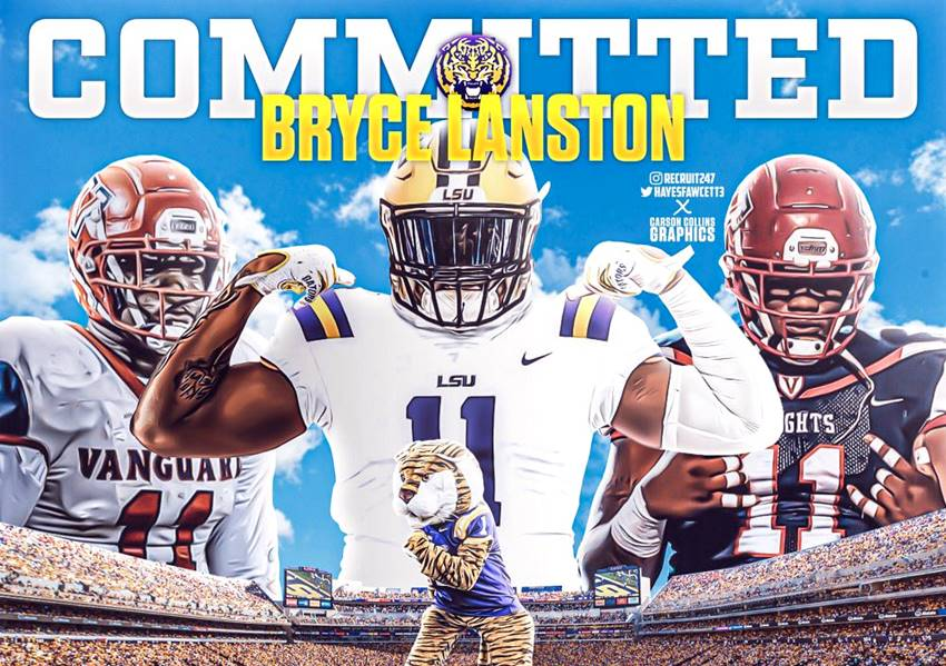 Bryce Langston signs with LSU