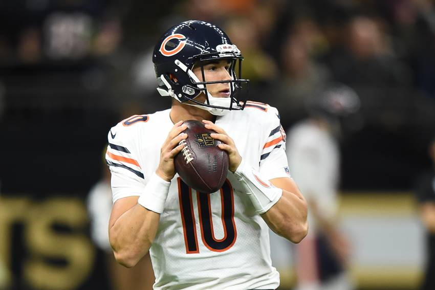 Bears QB Mitch Trubisky 2017