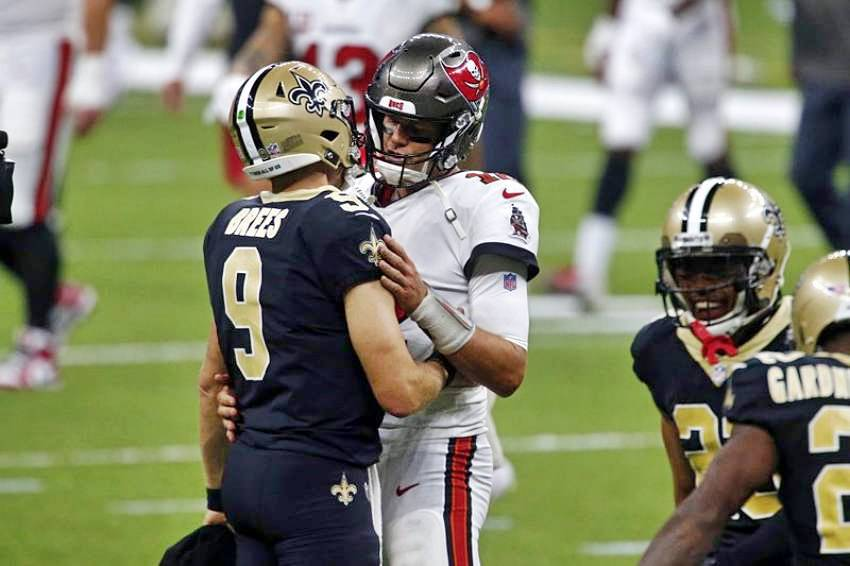 Brees and Brady