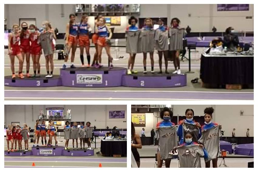 Curtis at LSU Indoor