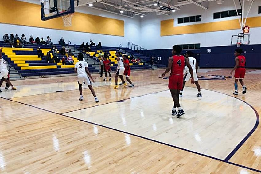 Riverside at Karr basketball