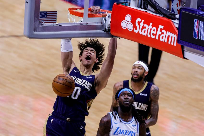 Jaxson Hayes, Brandon Ingram