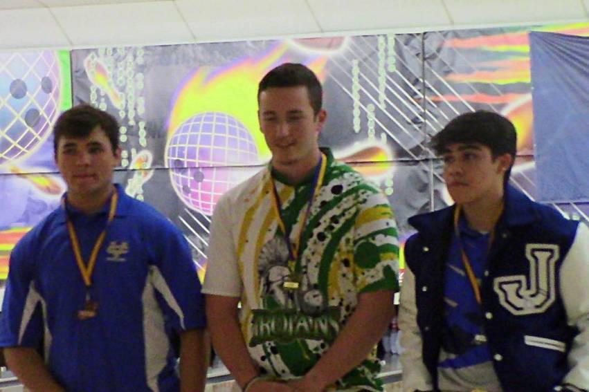 LHSAA boys individual bowling medalists