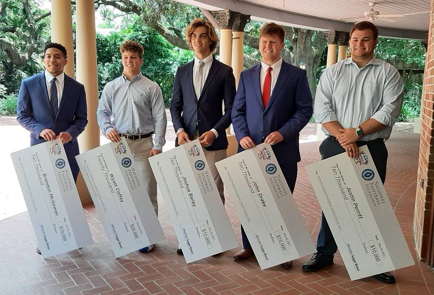 2021 Allstate Sugar Bowl scholarship recipients