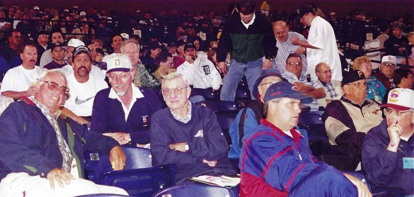 1998-03-15 - Scouts at Spring Training in Peoria AZ