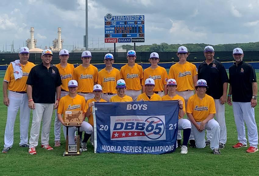 JPRD East Dixie Boys Baseball World Series Team Photo