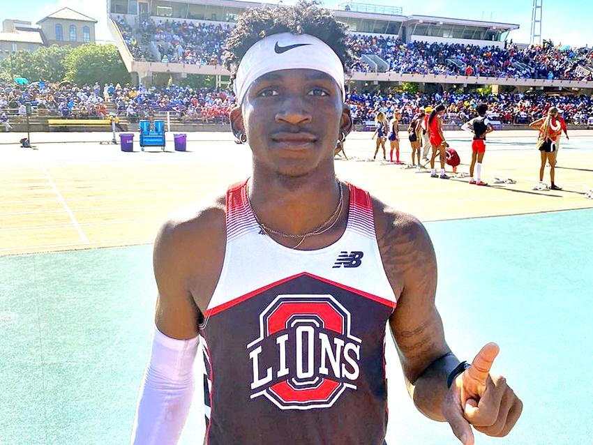 Incoming Ragin' Cajuns freshman Kashie Crockett earns Gatorade state track top honor