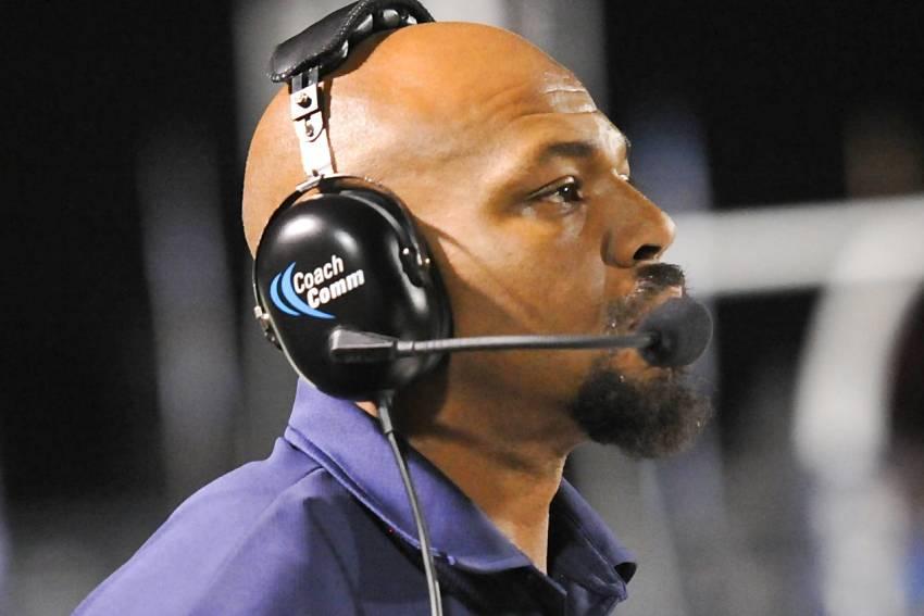 LSU coach Kevin Faulk