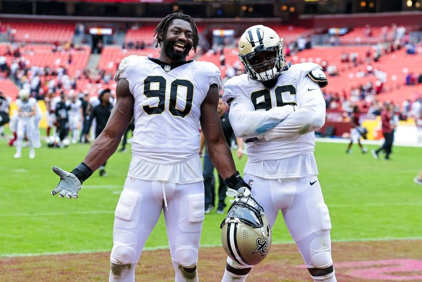 Inconsistent Saints enter bye week in adequate position